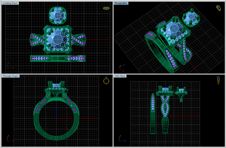 CAD Image of Ring